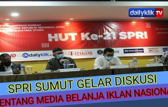 SPRI Sumut Gelar Diskusi Media Tentang Belanja Iklan Nasional