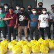 Terdampak PPKM, Forwakum Sumut Terima Bantuan Sembako dari Dermawan