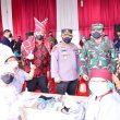 Kunjungi Vaksinasi di Pasar Induk Medan, Ini Permintaan Kapolri