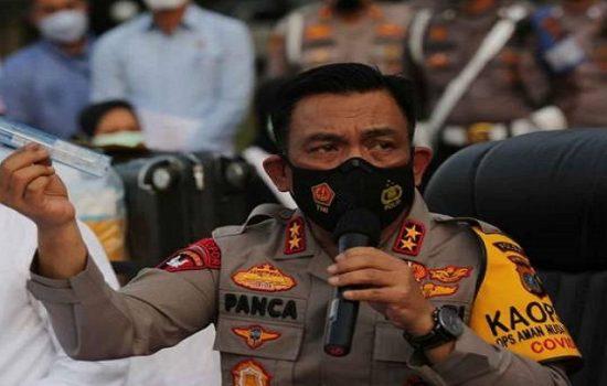 Kapolda Sumatera Utara Irjen RZ Panca Putra Simanjuntak