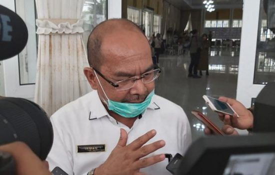 Kadiskominfo Sumut Irman (Ahmad Arfah/detikcom)